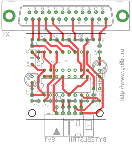 Building ByteBlasterII device  GR8BIT KB0011
